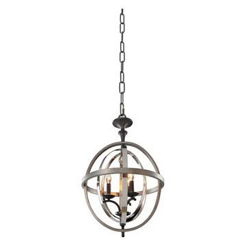 Rothwell 17.5x28in 3 Lt Contemporary Large Pendants by Kalco