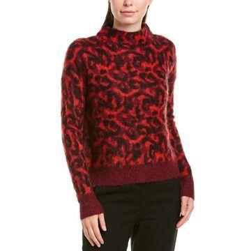 Karen Millen Womens Wool & Mohair-Blend Sweater