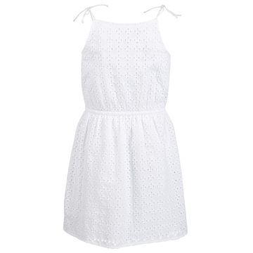 Big Girls Eyelet Tie Dress, Created for Macy's