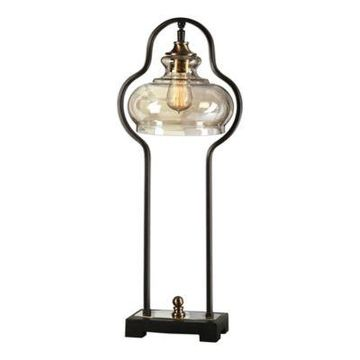 Uttermost Table Lamp in Black