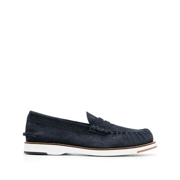 Tod's Flat shoes Blue