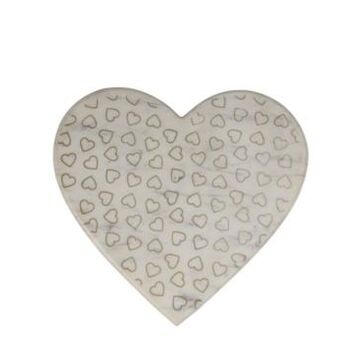 Martha Stewart Collection Valentine's Day Marble Heart Cutting Board, Created for Macy's