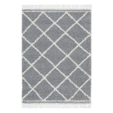 Home Dynamix Onyx Fiore 8' x 10' Area Rug in Light Gray