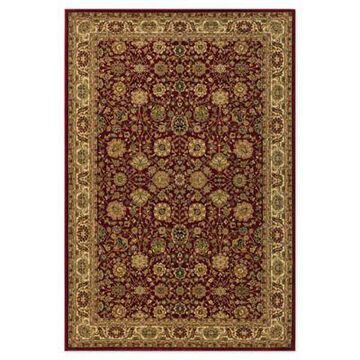 Rugs America New Vision Tabriz 5'3 x 7'10 Area Rug in Red