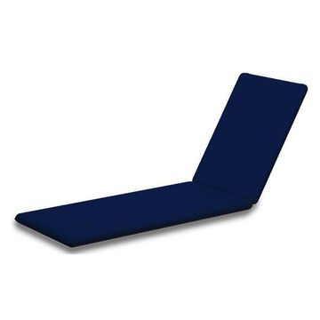 POLYWOOD Chaise Cushion, Navy