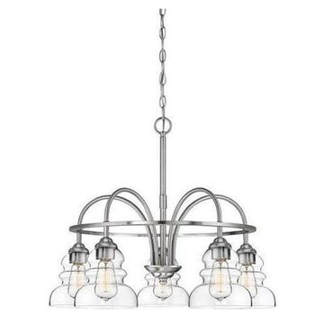 Millennium Lighting Brighton - Five Light Chandelier