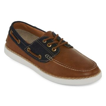 JF J.Ferrar Mens Fender Boat Shoes