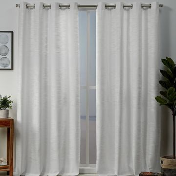 Exclusive Home 2-pack Kadomo Striped Window Curtains