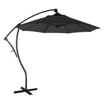 California Umbrella 9' Cantilever Umbrella in Black
