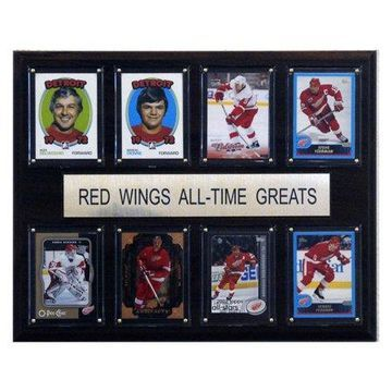 C&I Collectables NHL 12x15 Detroit Red Wings All-Time Greats Plaque