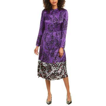 Escada Dillasa Silk Midi Dress