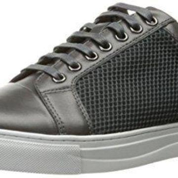 English Laundry Men's Devons Fashion Sneaker, Grey, 11 M US