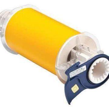 BRADY 13570 Tape,Yellow,50 ft. L,6 In. W