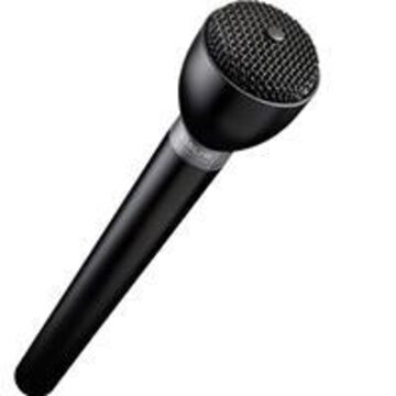Electro-Voice Omnidirectional Interview Microphone with Long Handle
