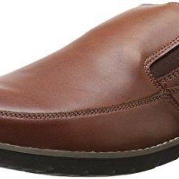 Propet Men's Grant Slip-On Loafer, Brown, 11 M US