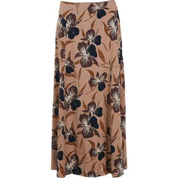 Dries Van Noten Pink Silk Skirts