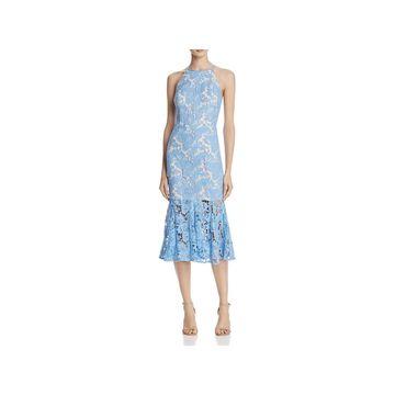 Keepsake Womens Evening Dress Sleeveless Midi