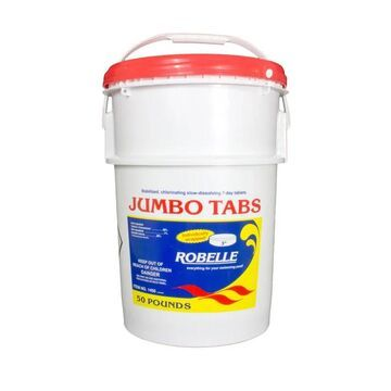 Robelle 3-inch Chlorine Tablets for Swimming Pools (25 lb. Bucket)