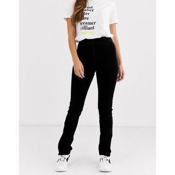 Weekday skinny cord pants in black