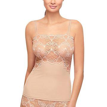 Wacoal Women's Camisoles BRUSH - Sand Lace Impression Camisole - Women & Plus