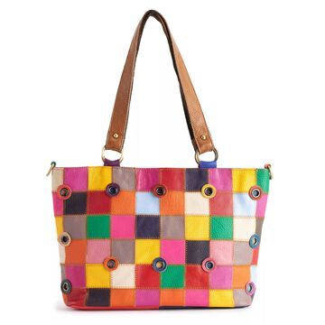 AmeriLeather Timmee Leather Shoulder Bag
