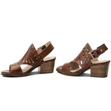 Pikolinos Womens W6T-1652 Leather Open Toe Casual Slingback Sandals