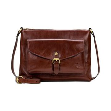 Patricia Nash Kirby East West Leather Crossbody