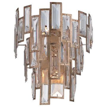 Minka Metropolitan Bel Mondo 3 Light Wall Sconce