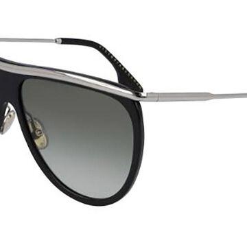 Victoria Beckham VB155S 001 Womenas Sunglasses Black Size 60