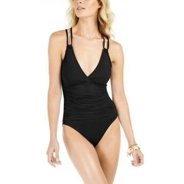 La Blanca Island Goddess Underwire Tummy-Control One-Piece Swimsuit Women's Swimsuit