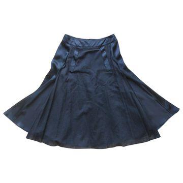 Givenchy Black Polyester Skirts
