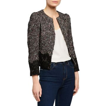 Tweed Lace Jacket