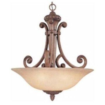 Dolan Designs Carlyle, Three Light Pendant