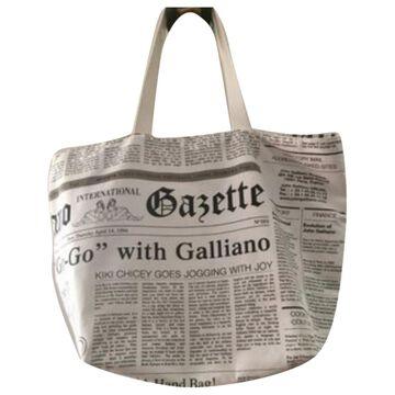 John Galliano \N Multicolour Cloth Handbags