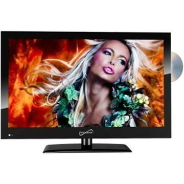Supersonic 18.5'' 720p Ac And Dc Led Tv And Dvd Combination Sscsc1912