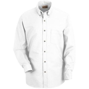 Red Kap Men's Long Sleeve Poplin Dress Shirt