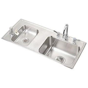 Elkay Lustertone Classic Stainless Steel Classroom ADA Sink Kit