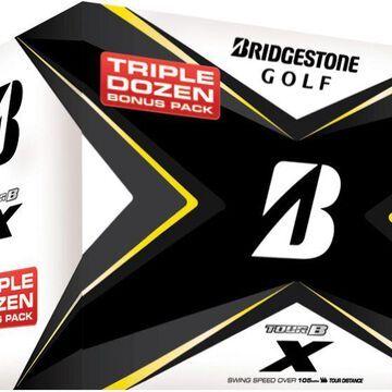 Bridgestone 2020 TOUR B X Golf Balls - Triple Dozen