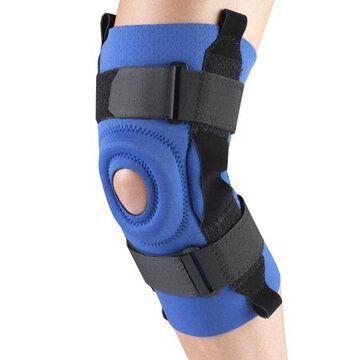 OTC Neoprene Knee Stabilizer - Hinged Bars, Blue, Large