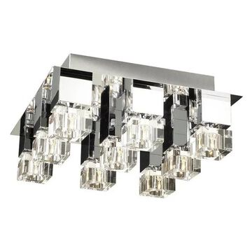 PLC LIGHTING 9 Light Ceiling Light Charme Collection 81238 PC