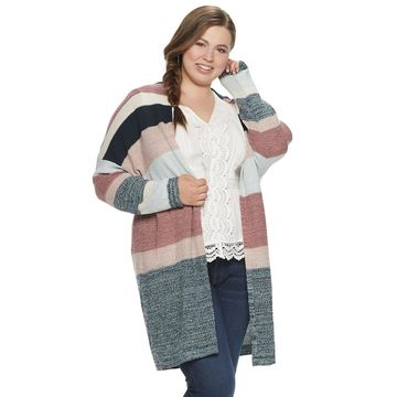 Juniors' American Rag Striped Cardigan