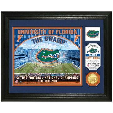 Highland Mint Florida Gators Stadium Framed Photo