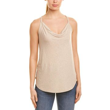 Chaser Womens Draped Tank Top