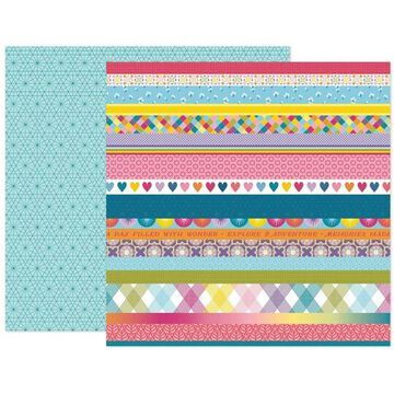 "American Crafts Paige Evans Wonders #15 12"" x 12"" Cardstock, 25 Sheets | Michaels"