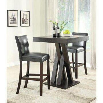 Coaster Company Contemporary Bar-Height Table, Cappuccino