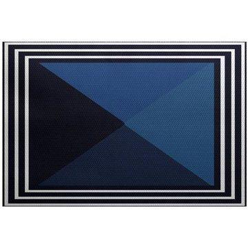 Simply Daisy 4' x 6' Nautical Angles Geometric Print Rug