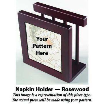 Mason's Paynsley Pink Rosewood Napkin Holder HC