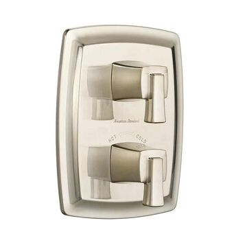 American Standard Townsend Brushed Nickel 2-Handle Bathtub and Shower Faucet (Valve Not Included) | T353740.295