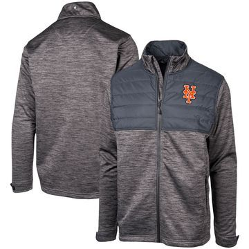 Levelwear New York Mets Black Beta Full-Zip Jacket