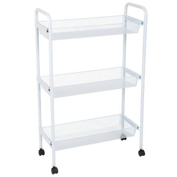 Simplify Deluxe 3-Tier Rolling Storage Cart